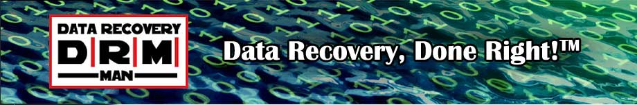 Data Recovery, Done Right! TM